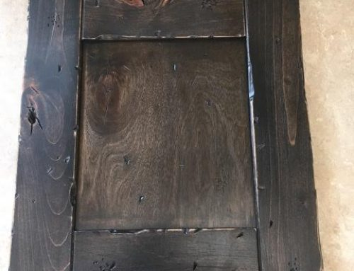 Distressed Alder Sample Door