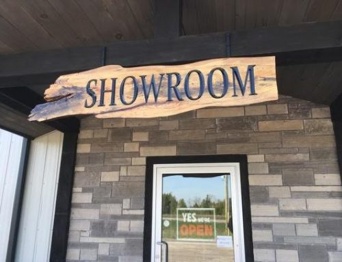 New Showroom Sign